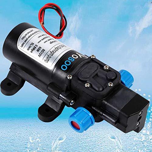 Membran-schalter (SISHUINIANHUA DC 12 V 60 Watt Micro Membran Wasserpumpe Hochdruck selbstansaugende Druckerhöhungspumpe Automatische Schalter Für hausgarten Autowaschanlage 12 V)