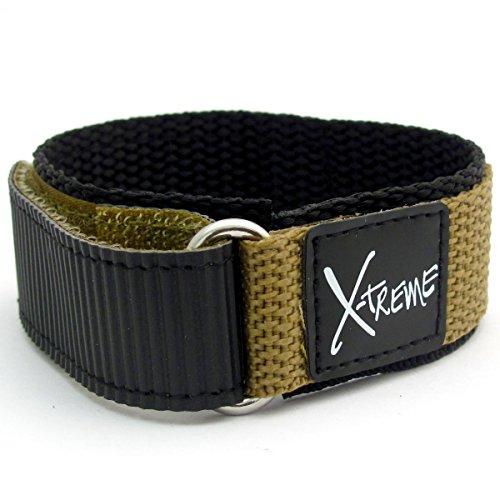 x-treme-tough-sports-watch-strap-band-mens-hook-and-loop-rip-tab-fastening-20mm-khaki