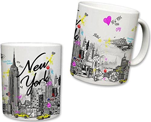 Sweet Gisele Individuelle New York inspiriert Kaffee Tasse-11Flüssigunzen