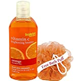 BodyHerbals Brightening Booster, Orange Shower Gel With Skin Conditioners(200ml) Personal Care, Beauty, Bath & Shower,Body Washes - No Parabens