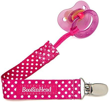 BooginHead Porte Sucette PaciGrip - - - Pois Rose | Les Produits Sont Vendu Sans Limitations  45ee48