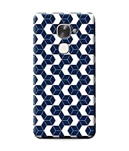 Be Awara Box Polygon Pattern Designer Mobile Phone Case Back Cover For LeEco Le Max2