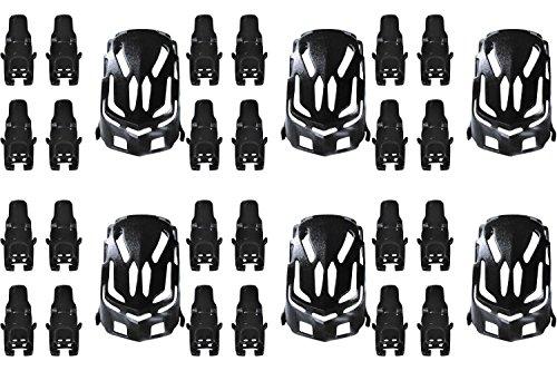 6-x-quantity-of-estes-proto-x-nano-body-shell-h111-01-black-quadcopter-frame-w-motor-supports-fast-f