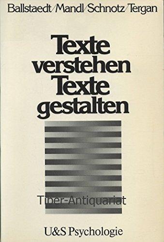 U-&-S-Psychologie Texte verstehen, Texte gestalten