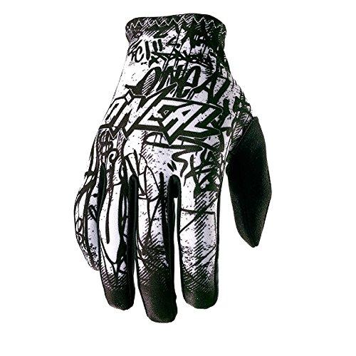O\'Neal Matrix Handschuhe Vandal Schwarz Weiß MX MTB DH Motocross Enduro Offroad, 0388M-4, Größe XL