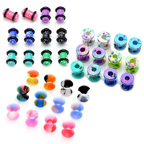 piercingj-36pcs-mixed-candy-colors-spots-acrylic-ear-stretching-plugs-with-o-ring-screw-tunnel-stret