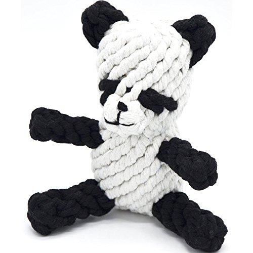 owikar Pet Kauen Spielzeug Animal Design Baumwolle Seil Hundespielzeug Dental Zähne reinigen Spielzeug Hund Spielen und Training Spielzeug für kleine und mittelgroße Hunderassen (Sicherheitsgurt Ram)