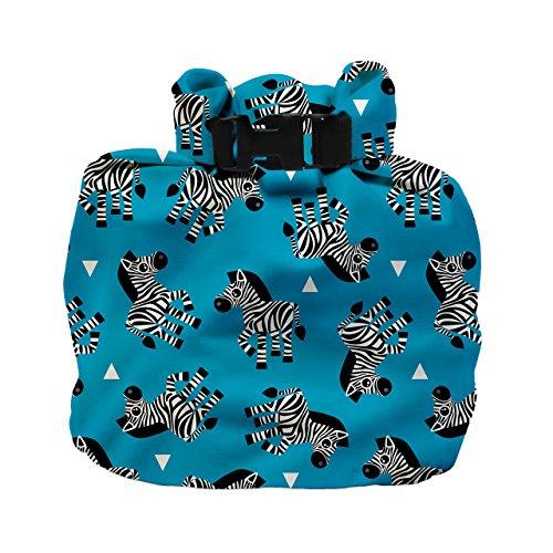 Bambino Mio, borsa impermeabile, zebra