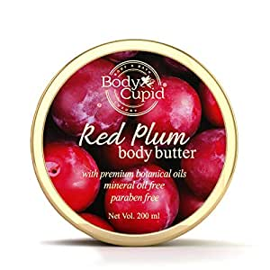 Body Cupid Red Plum Body Butter with Vitamin C & Shea Butter - 200 ml