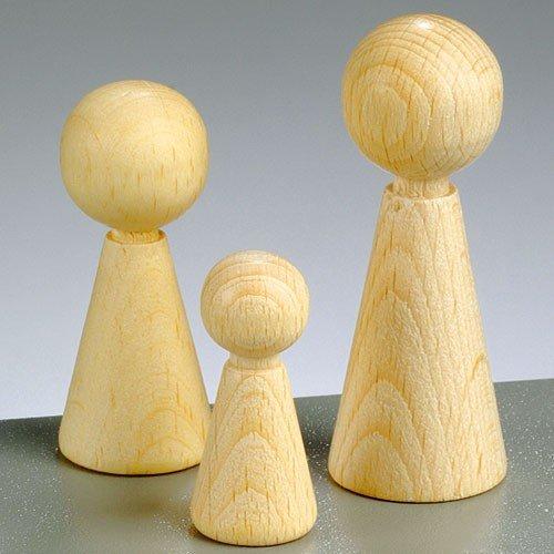Figuren-Kegel, Höhe 50 mm, 20 Stück -