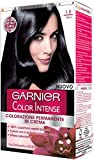Garnier Garnier Color Intense Colorazione Permanente in Crema, 1.0 Nero