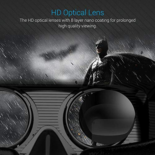 Captcha Pack of Three 3D Virtual Reality 360 Degree Rotatable Box 4Th Generation Glasses for Video Games and Hd Movies Experience