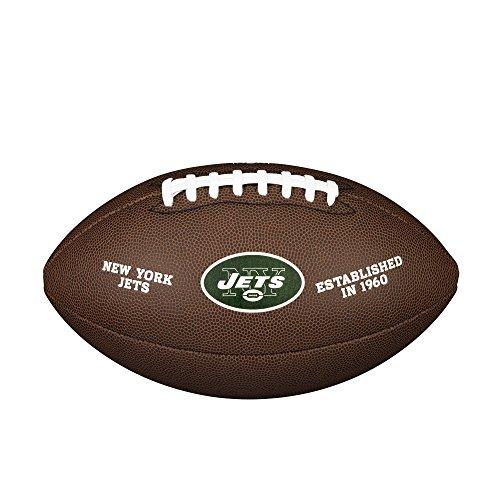WILSON NFL Team Logo Composite Fußball, New York Jets, Official