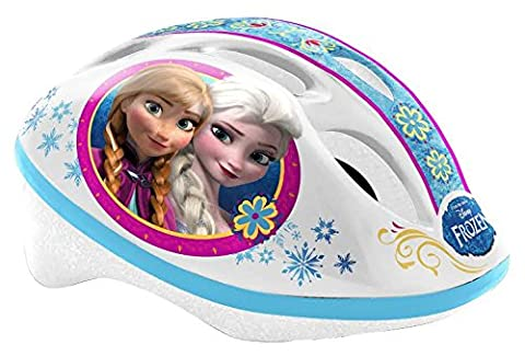Disney Kinder Schutzhelm Kinderhelm Kinderfahrradhelm Fahrrad Helm FROZEN die Eiskönigin