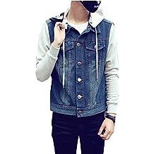 quality design c1520 414b3 jeansjacke mit stoffärmeln - Suchergebnis auf Amazon.de für