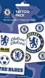 """GB Eye """"Chelsea, Crests"""" Tattoo Pack, Multi-Colour"""