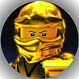 Fondant Tortenaufleger Tortenbild Geburtstag Lego Ninjago T15