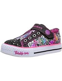 Skechers ShufflesGlow Girl - Zapatillas de lona niña