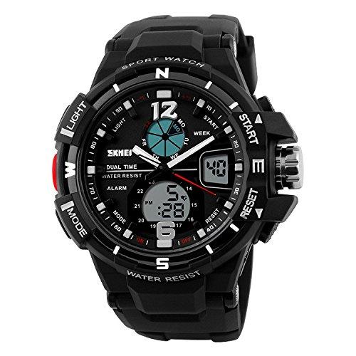Skmei SKM-AD1148-BLACK S-Shock Analog-digital Watch For Unisex