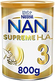 Nestle NAN SUPREME H.A. Stage 3, 1 to 3 years, Hypoallergenic Growing Up Milk 800g