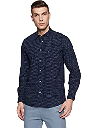 Arrow Sports Men's Printed Regular Fit Casual Shirt