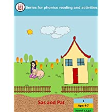 Sas and Pat (MG Series for Phonics reading and activities Book 1)