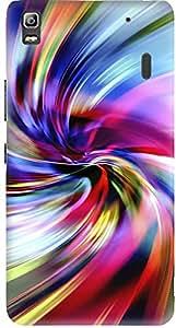 Meetarts Lenovoa _D467 Mobile Case for Lenovo A 7000 (Multicolor)