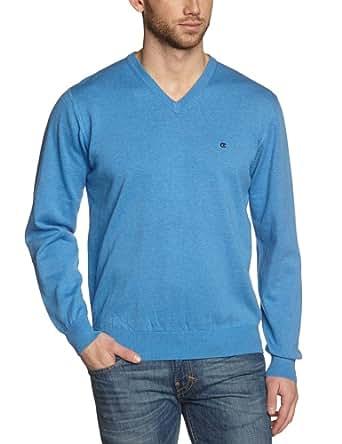 CASAMODA Herren Pullover 004130/100, Einfarbig, Gr. XXXXXX-Large, Blau (hellblau 100)