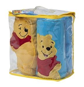 Winnie the Pooh 13942  -  Set de manta, cojn y peluche de Winnie the Pooh (70 x 100 cm, 25 x 25 cm y 25 cm respectivamente)  Importado de Alemania (Joy Toy)