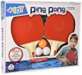 Globo Toys Globo–47399Sommer 1Star Ping Pong-Set mit Netz und 3Bälle
