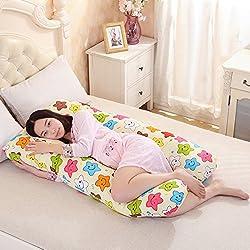 New Akira 70x130cm Maternity Star design U Shaped Body Pillows For Side Sleeper Removable