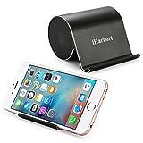 iHarbort® mini beweglicher nachladbarer Bluetooth Lautsprecher mit Bass und Handy-Halter stand für...