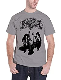 Immortal Homme T Shirt Gris Battles In The North band logo officiel