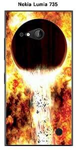 Coque Planete Wasp 12b pour Nokia Lumia 735