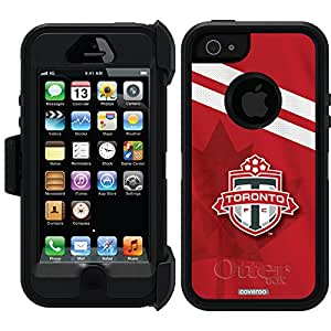 Coveroo Defender Series Cell Phone Case for iPhone 5/5s - Retail Packaging - Toronto FC Jersey