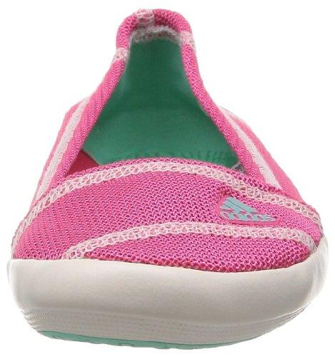 adidas Boat Slip-On Sleek D67013 Damen Ballerinas Pink (Bahpnk/Bahm)