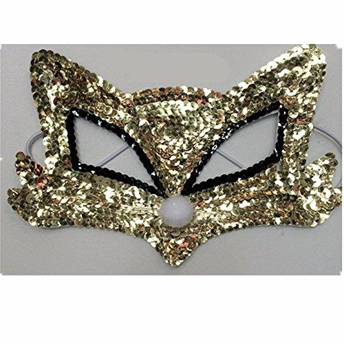 ONE-K Mask Spitze Kostüm-Parteimaske der Erwachsenen Frau Halloweens, ()
