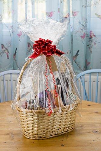 Woodluv kit per creare il proprio cestino cesto in vimini regali di natale, battesimo, matrimonio, baby shower o regalo di compleanno