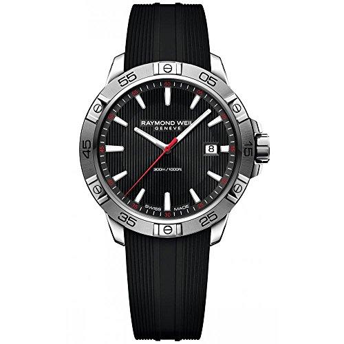 raymond-weil-tango-homme-41mm-bracelet-caoutchouc-boitier-acier-inoxydable-quartz-montre-8160-sr2-20
