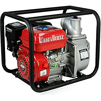 Fuerza Hertz® Gasolina Bomba de agua del motor Bomba de aguas residuales barro Bomba Bomba Bomba de jardín