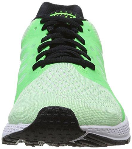Nike Air Zoom Pegasus 31, Running Entrainement Femme Vert (Vapor Vert/Blk/White/Flsh Lm)