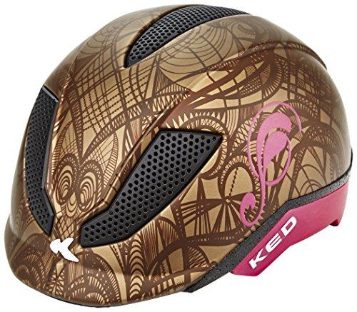 KED Pina Ride & Bike Helmet Kids Brown Matt Kopfumfang 51-56 cm 2017 mountainbike helm downhill