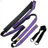 SHPEHP Geschenke für Tänzer Hochwertige Stretching-Ausrüstung Beinstrecker Bieten mehr Flexibilität für Tanz, Taekwondo und Gymnastik. Ihre eigene tragbare Trage-3.8cmpurple