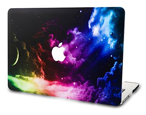 KECC MacBook Pro 13 Pulgadas (Unidad de CD) Funda Dura Case Cover Viejo MacBook Pro 13.3 Ultra Delgado Plástico {A1278} (Espacio Colorido)