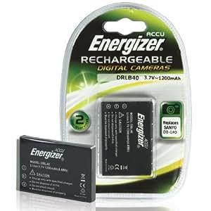 Energizer DBL40 Batterie pour appareil photo numérique Équivalent batterie Sanyo DB-L40 (Import Royaume Uni)