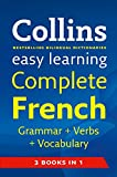 Collins Easy Learning French Grammar, Verbs and Vocabulary 3 books in 1
