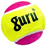 Guru Heavy Weight Cricket Tennis Ball (Pack of 6, Color - Double)