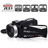 Camcorder Video Camera Full HD 1080P 30FPS Vlogging Camera 24.0Mega Pixels Night Vision
