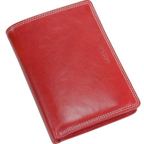 Picard Unisex-Erwachsene Porto Geldbörsen, 10x13x2 cm Rot