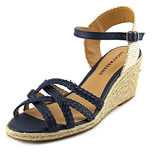 lucky-brand-kalley-3-femmes-us-65-bleu-sandales-compenses